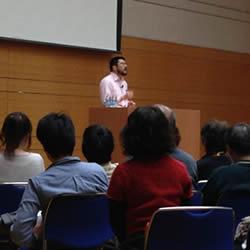 宮島賢也医師特別講演会写真